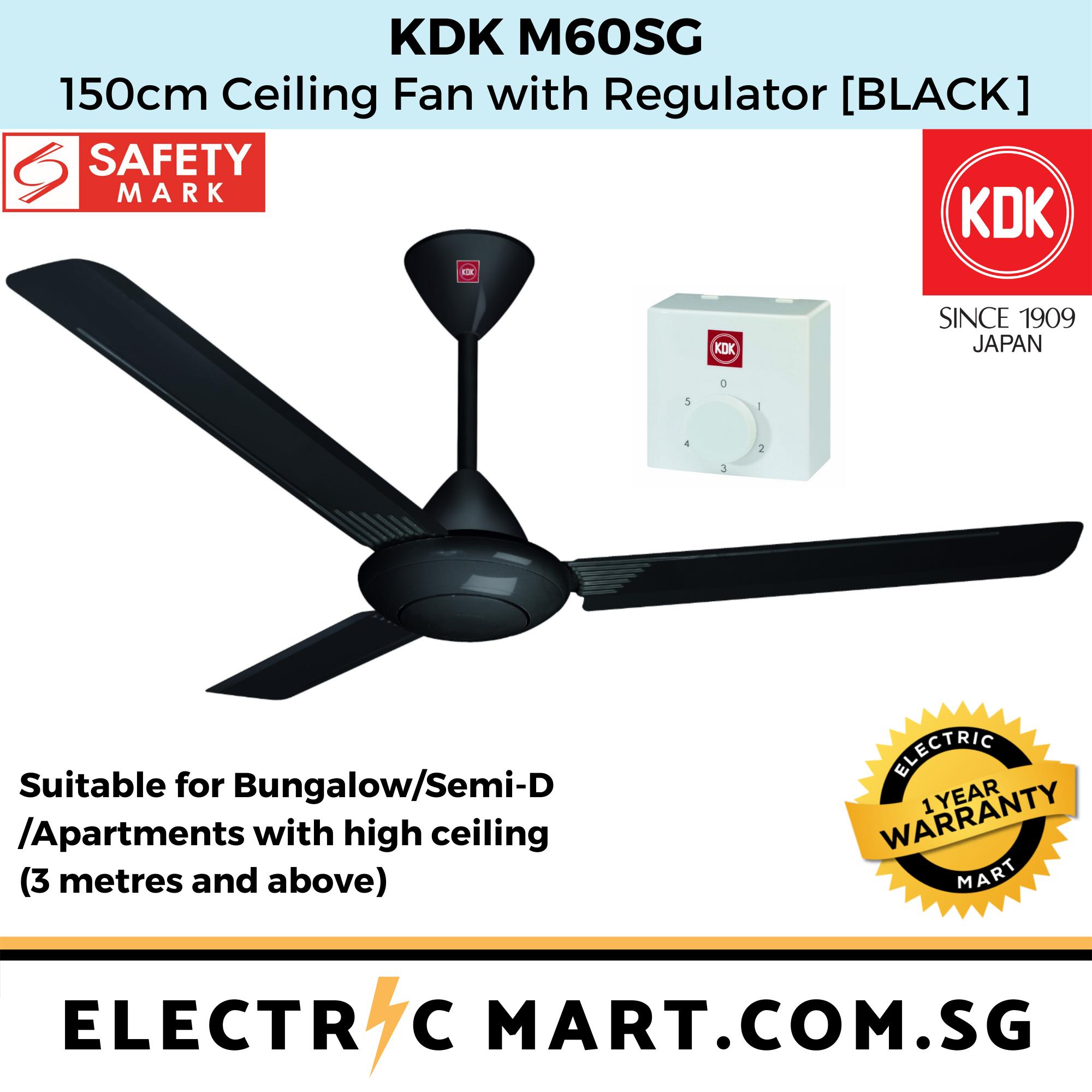 Kdk M60sg Ceiling Fan 150cm W