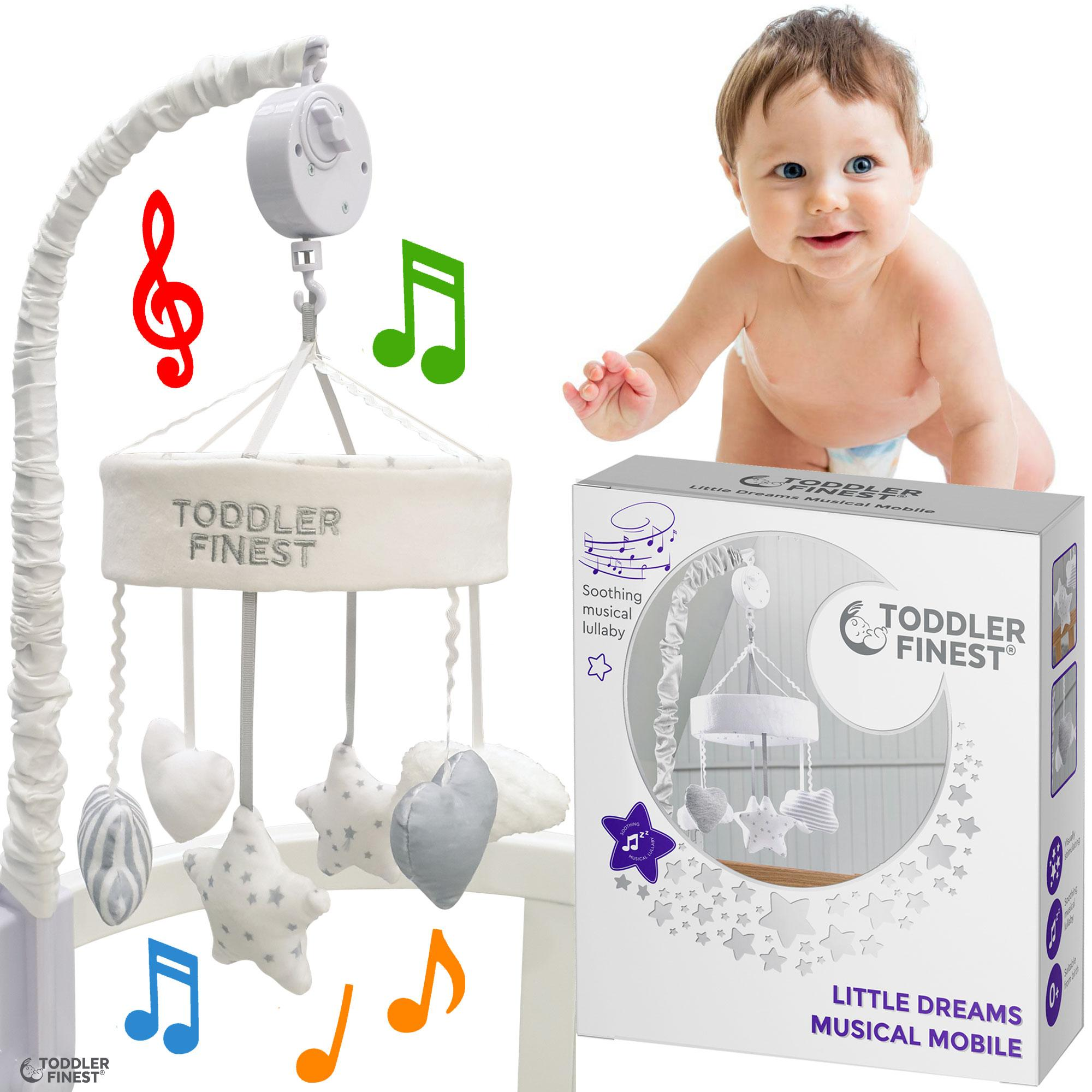 Baby Crib Cot Mobile Arm Music Box Holder Attachment Clamp/Decoration Hanging Arm Bracket Mobile/Bed Bell/Holder