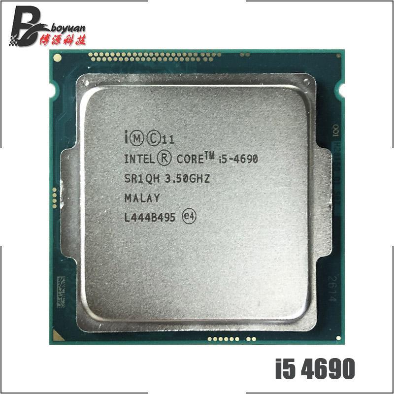 Intel Core i5-4690 i5 4690 3.5 GHz Quad-Core CPU Processor 6M 84W LGA 1150 SLL Store
