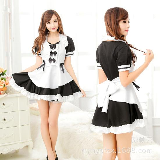 2013 new Japanese and Korean popular maid costume innocent maid uniform nightclub princess costume cosplay performance clothing