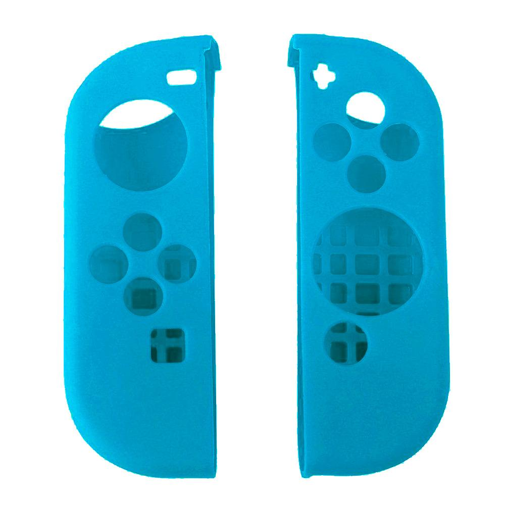 1Pair Portable Protect Cover Soft Silicone Anti-Slip Case Skin Guard for Left Right Nintendo Switch Joy-Con Controller Blue – intl