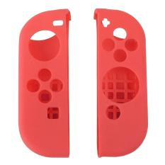 1Pair Portable Protect Cover Soft Silicone Anti-Slip Case Skin Guard for Left Right Nintendo Switch Joy-Con Controller Red – intl