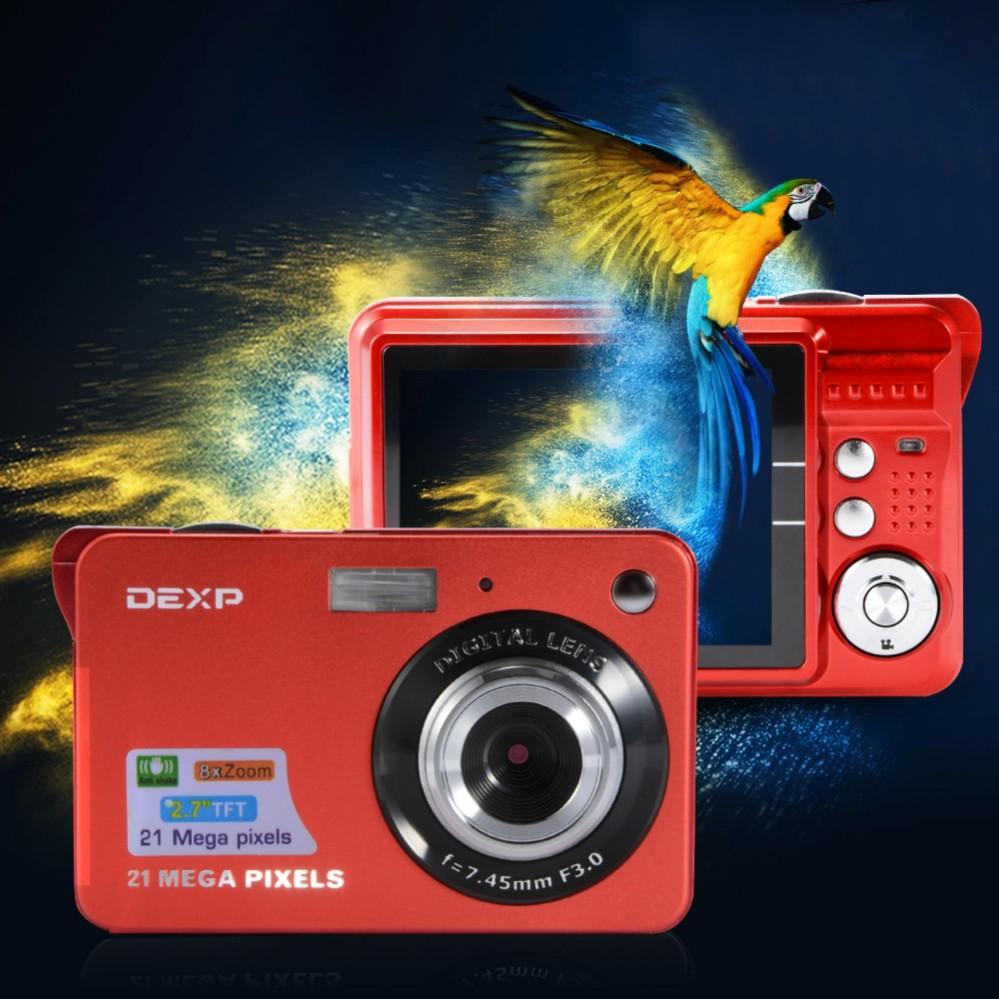 2.7″ LCD HD Digital Video Camera 21MP Anti-Shake Smile Capture Camcorder – intl