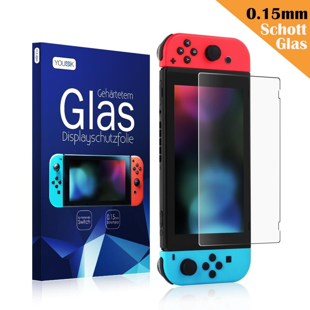 (3 Packs) Nintendo Switch Screen Protector- Younik 0.125mm/4H High Response Clear Film Screen Protector for Nintendo Switch – intl