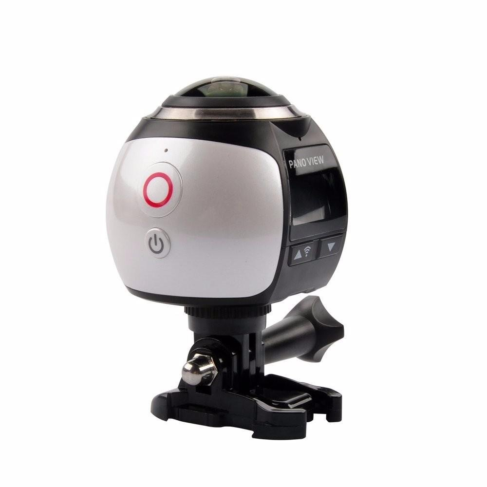 360° Mini WiFi Panoramic Video Camera 2448P 30fps 16MP Photo 3D Sports DV VR Video And Image ABS – intl