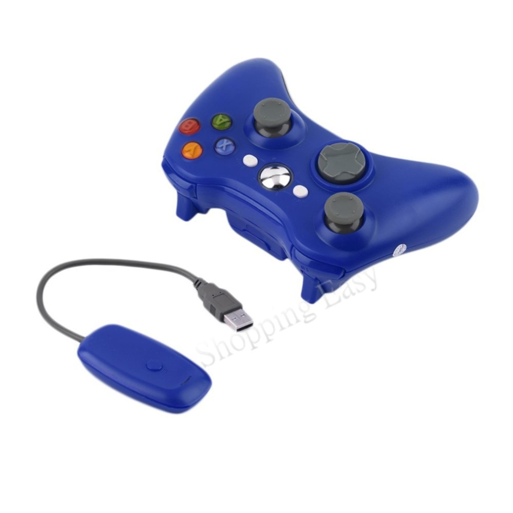 360 Wireless console Xbox 360 Wireless Game Controller 2.4GHz Controller with PC Receiver For Microsoft Xbox 360 For Xbox360 and...