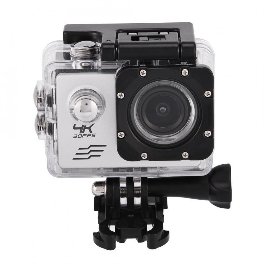 4K Outdoor Wifi Waterproof Sports HD 1080P High Definition Camera DV Camcorder (Silver) – intl