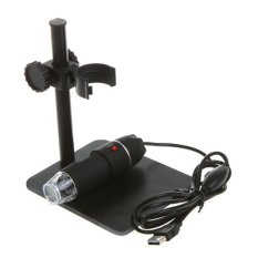 50-500X Video Camera Endoscope Led Digital Microscope Usb Magnifier Adjustable Black