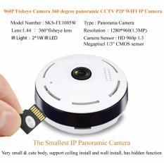 Mini Wifi 360 Panoramic 960P Fisheye IP Camera