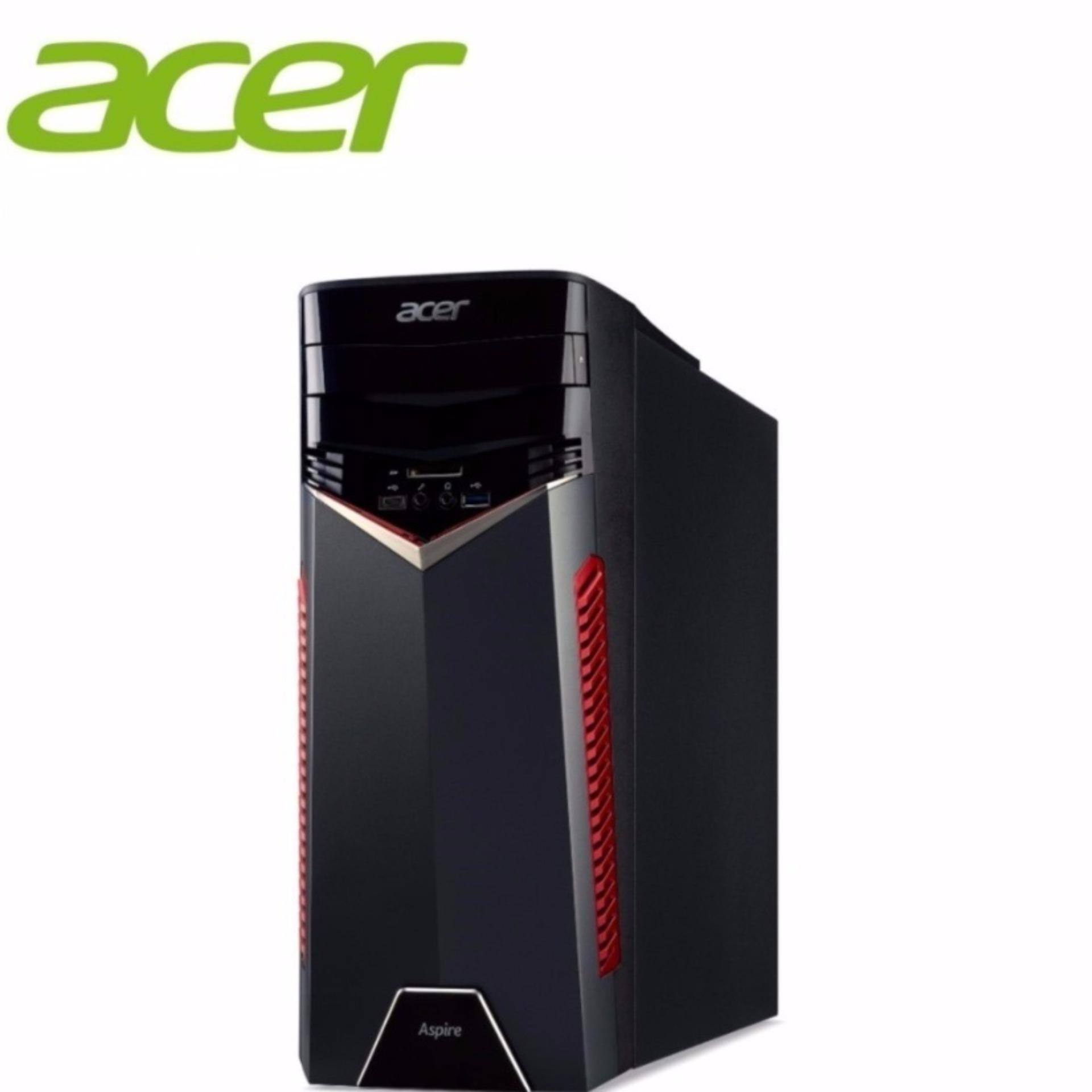 Acer Aspire GX-785 (i77MR161T06) I7-7700 16GB RAM Gaming Desktop (Black)