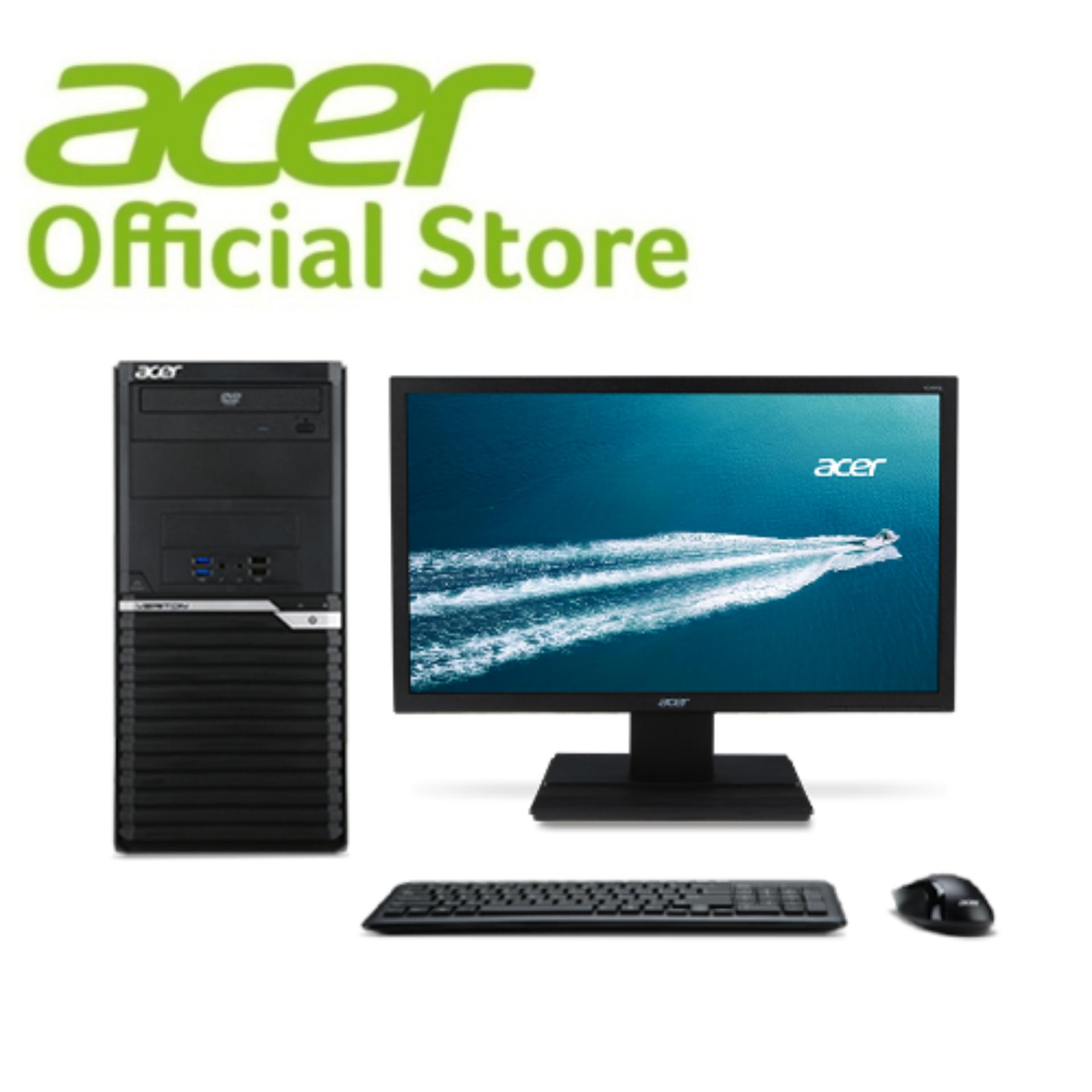 Acer Veriton VM2640 (i7-7700) Business Monitor + Desktop - 24