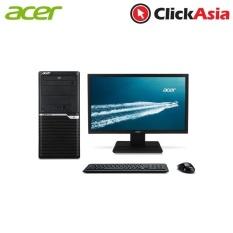 Acer Veriton (VM2640) – i7-7700/8GB/1TB HDD/Nvidia GT720/DVDRW/W10 Pro + Acer V246HL Monitor