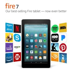 Amazon All-New Fire 7 Tablet with Alexa, 7″ Display, 8 GB, Black – with Special Offers