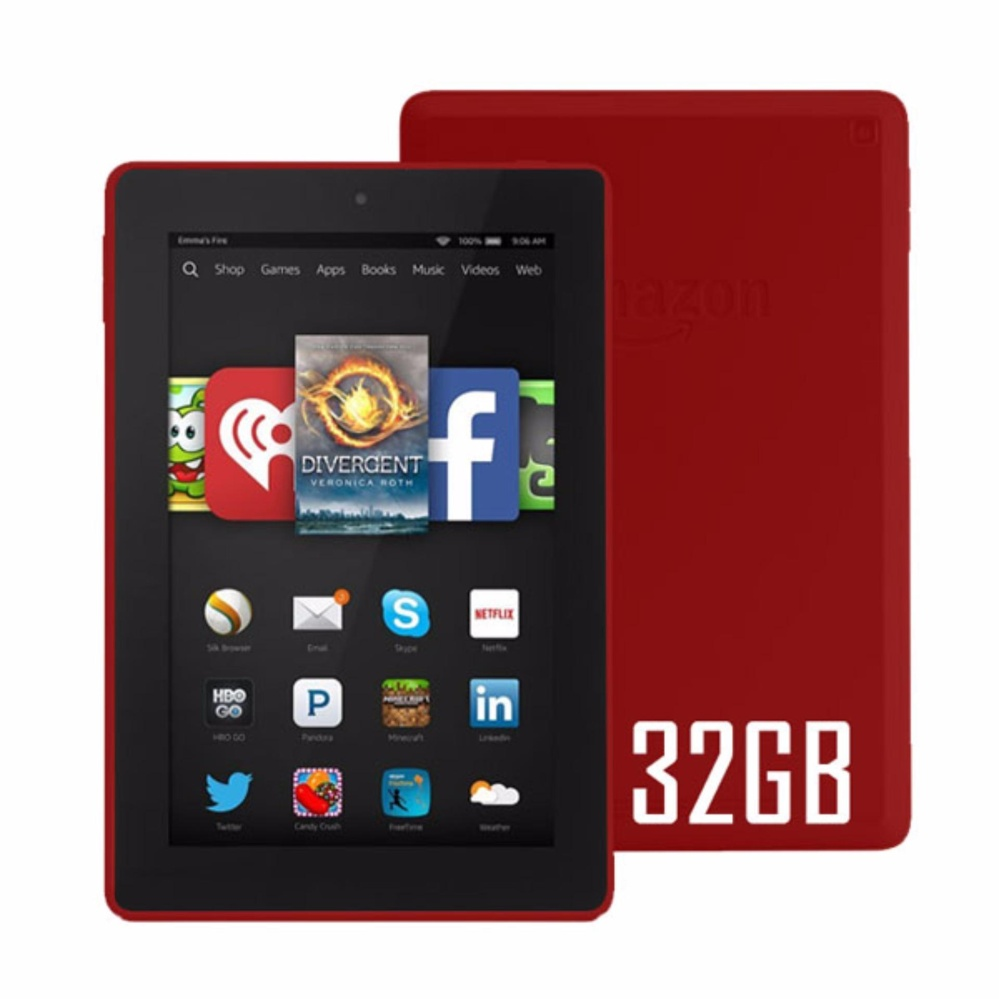 Amazon Fire HD 8 32GB (Red)