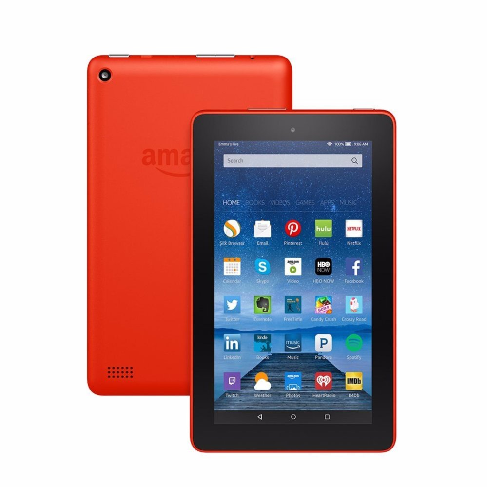 Amazon Fire HD8 32GB Tangerine (For Export)
