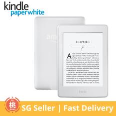 Amazon KINDLE Paperwhite (Wi-Fi Only, With Special Offers, 4GB, 300PPI, White)