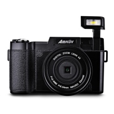 Amkov 24MP 4x Zoom Digital Camera Video Flip Screen Camcorder w/ UV Filter – intl