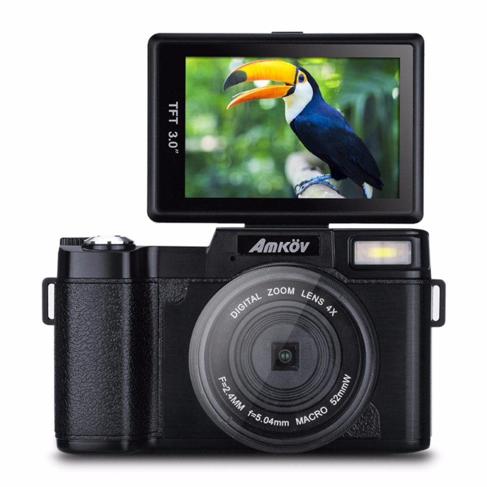 Amkov 24MP Digital Camera FHD 1080P Video 3
