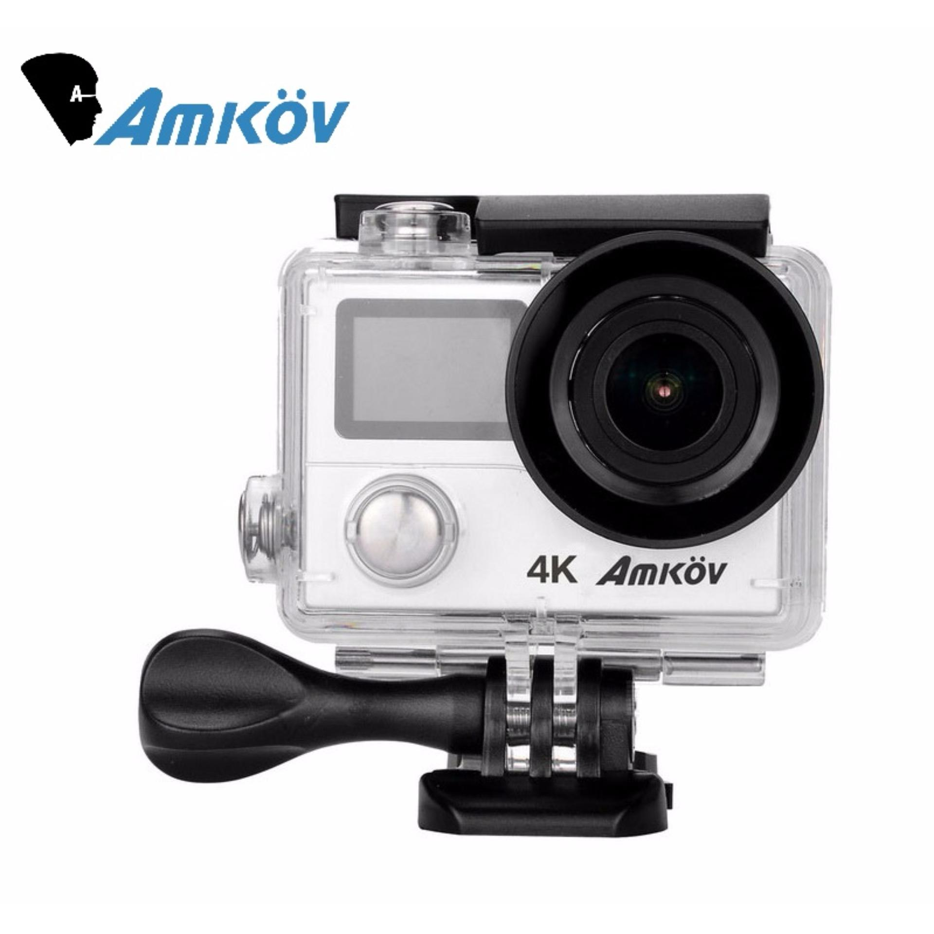 AMKOV AMK8000S 4K Action Camera Wifi 1080P/60FPS *FREE EXTRA BATTERY*