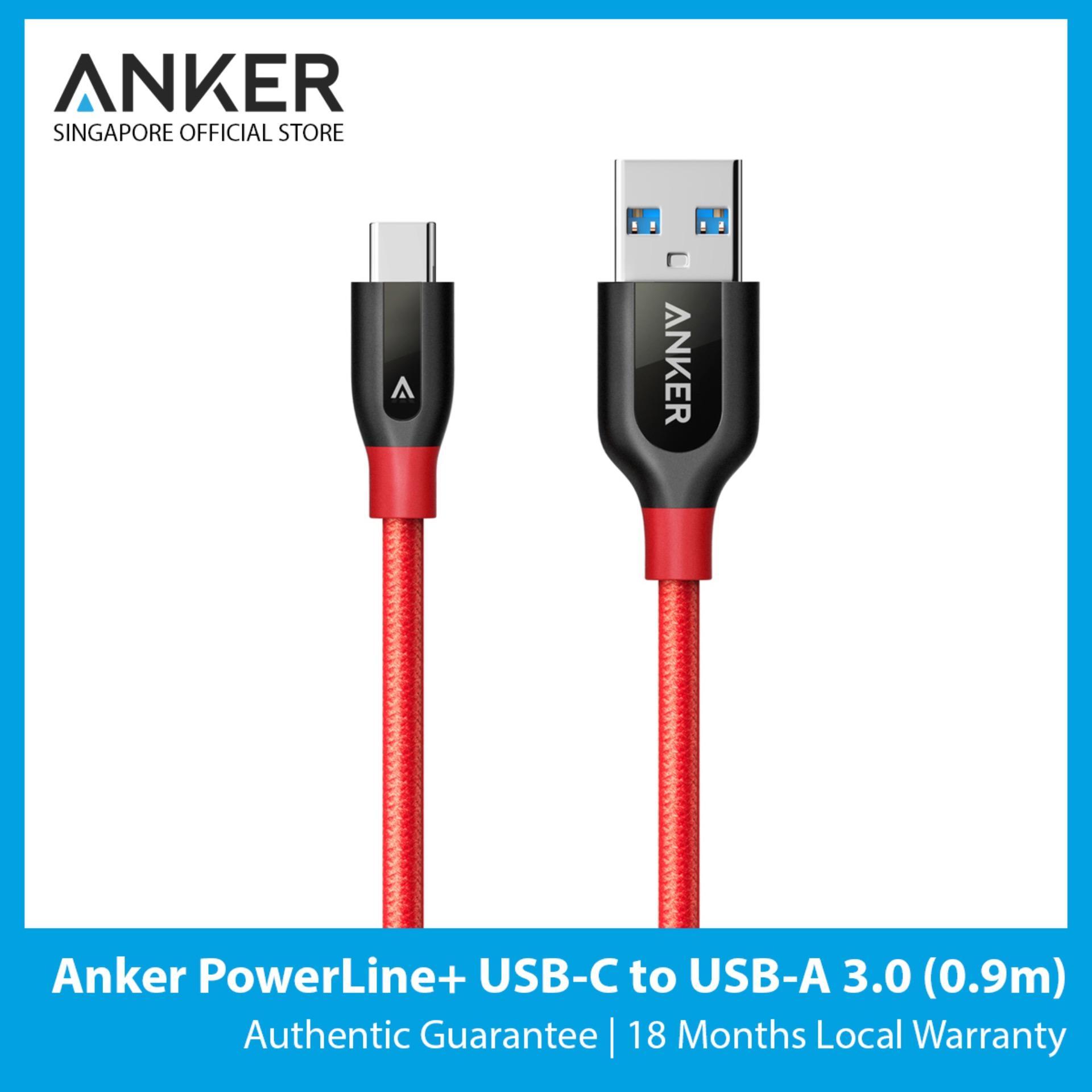 Anker PowerLine+ USB-C to USB 3.0 (3ft / 0.9m)