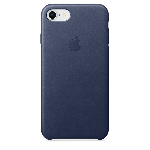 Apple iPhone 8 / 7 Leather Case Midnight Blue