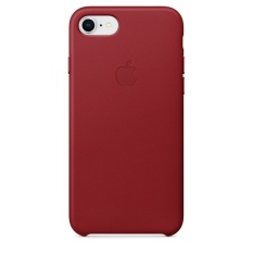 Apple iPhone 8 / 7 Leather Case (PRODUCT)RED