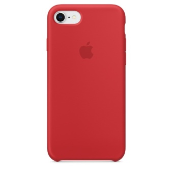 Apple iPhone 8 / 7 Silicone Case (PRODUCT)RED
