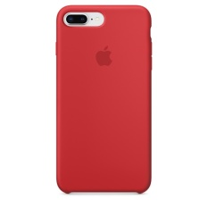 Apple iPhone 8 Plus / 7 Plus Silicone Case (PRODUCT)RED