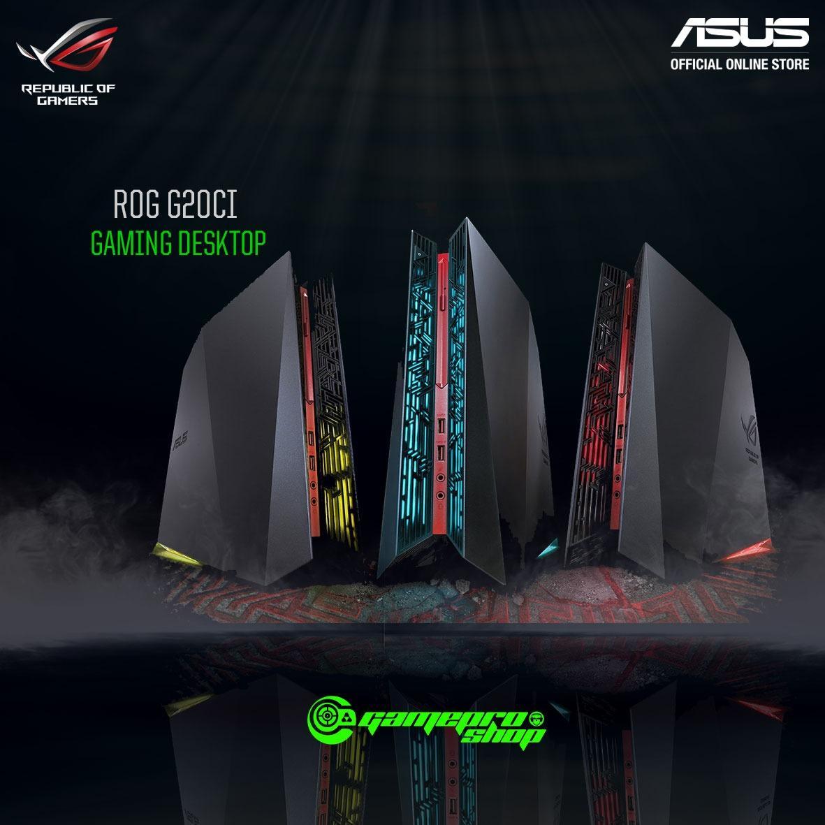 ASUS ROG G20CI – SG007T i7-7700 GTX 1080 8GB DDR5 32GB RAM Gaming Desktop *COMEX PROMO*