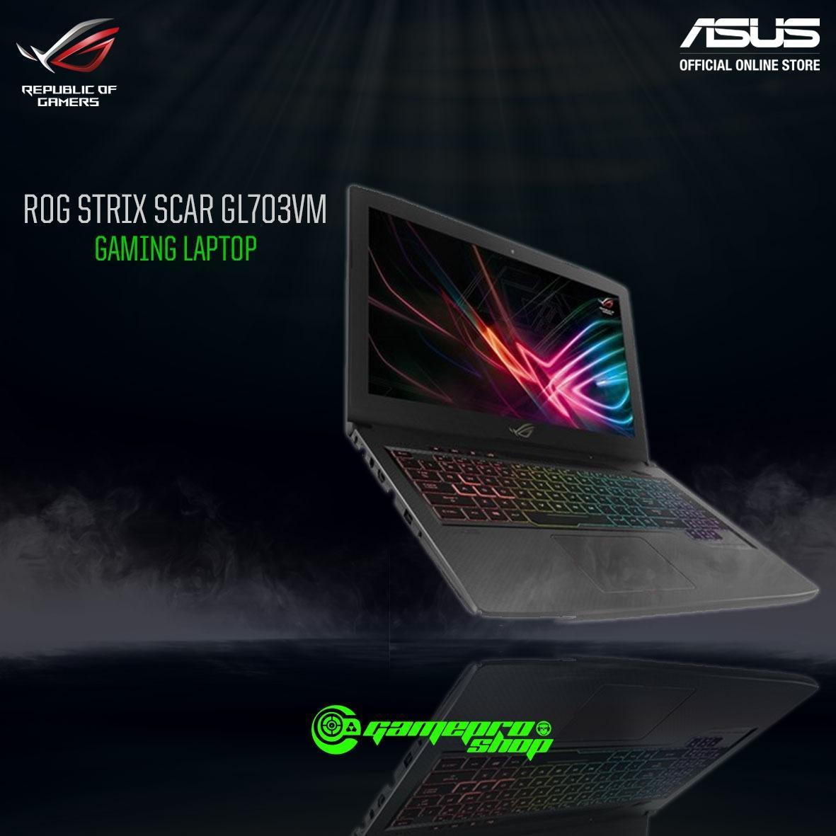 """ASUS ROG Strix """"SCAR"""" GL703VM – EE092T *NDP PROMO*"""