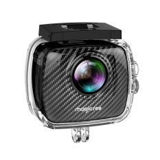 Belle Magicsee P3 360 Panoramic Camera Dual Lens Waterproof Case Pro 16MP VR Camera Black – intl