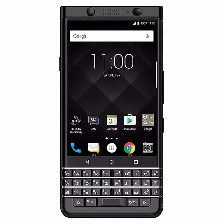 Blackberry Keyone (Black Edition/ 4GB RAM /64GB Storage)