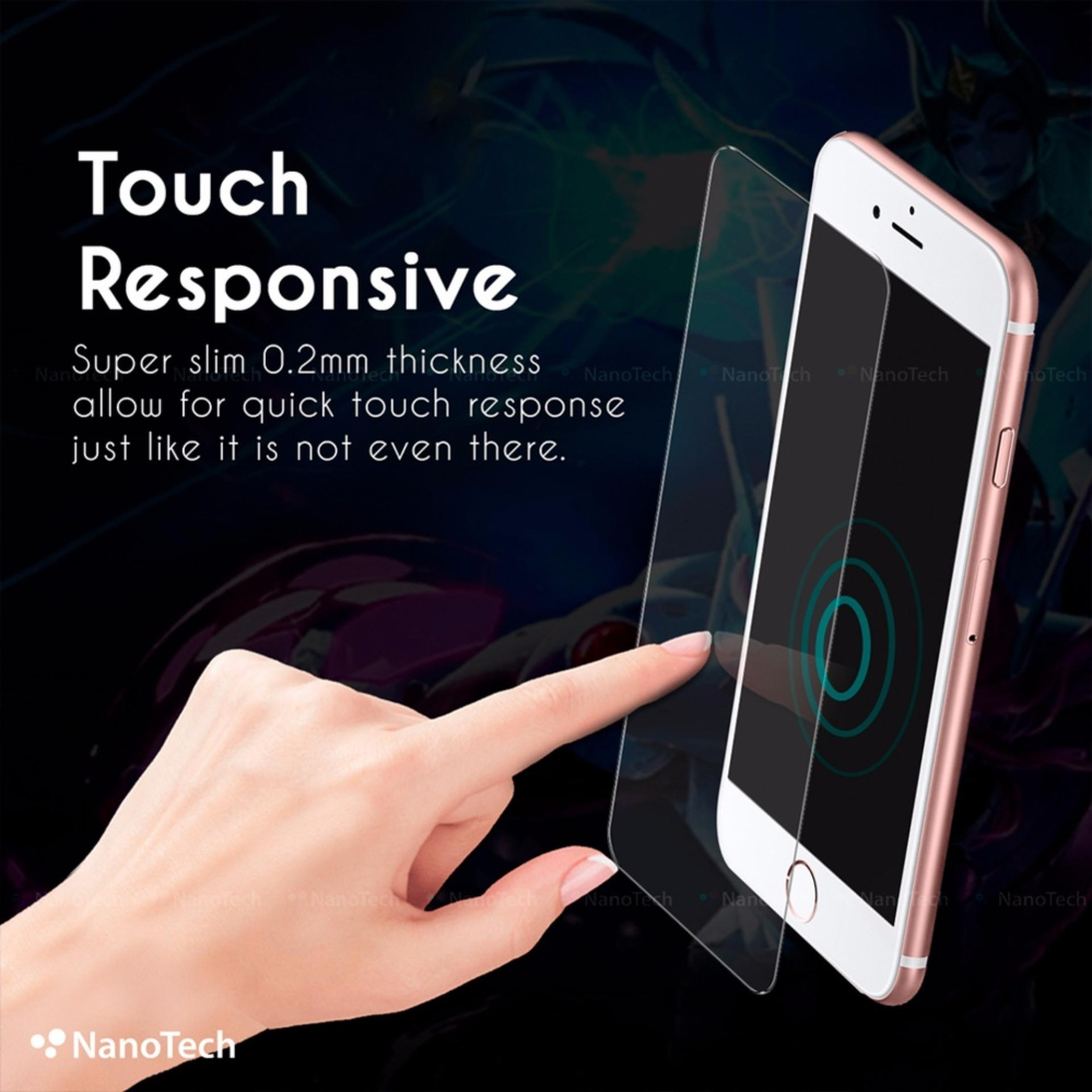 [Buy1Free1] iPhone 7 Plus Tempered Glass Screen Protector [0.2MM][Non-full Coverage]