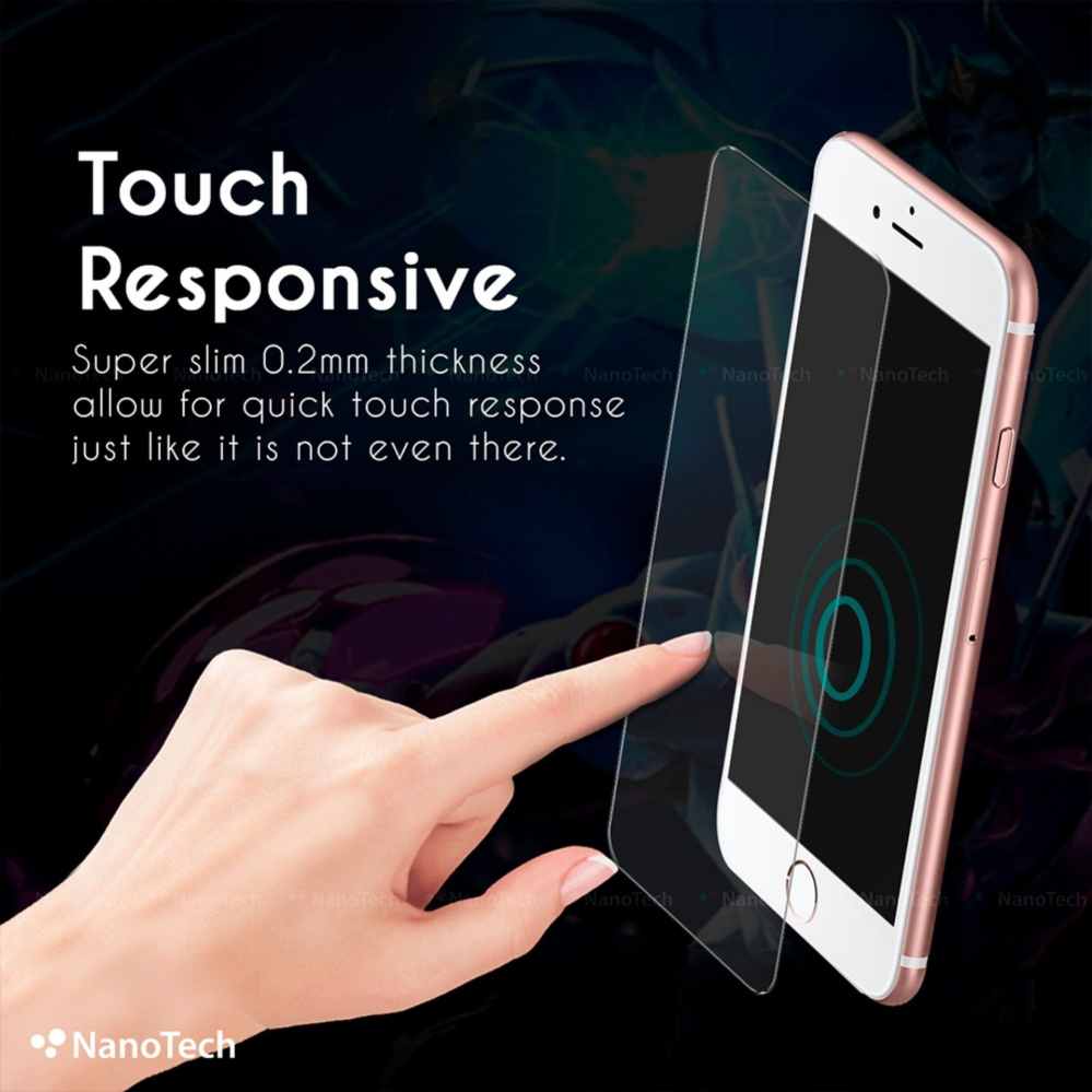 [Buy1Free1] iPhone 7 Tempered Glass Screen Protector [0.2MM][Non-full Coverage]