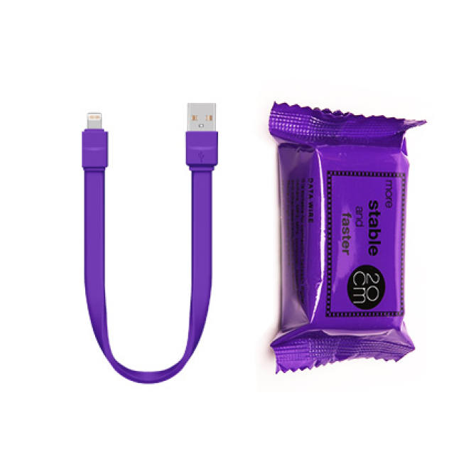 VOIA iPhone 8 Candy Shape Wrapping USB Cable