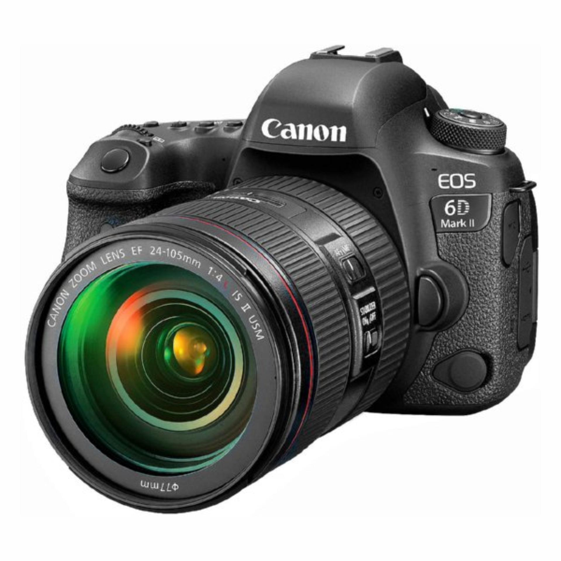 Canon EOS 6D Mark II Camera + EF 24-105mm f/4L IS II USM Lens