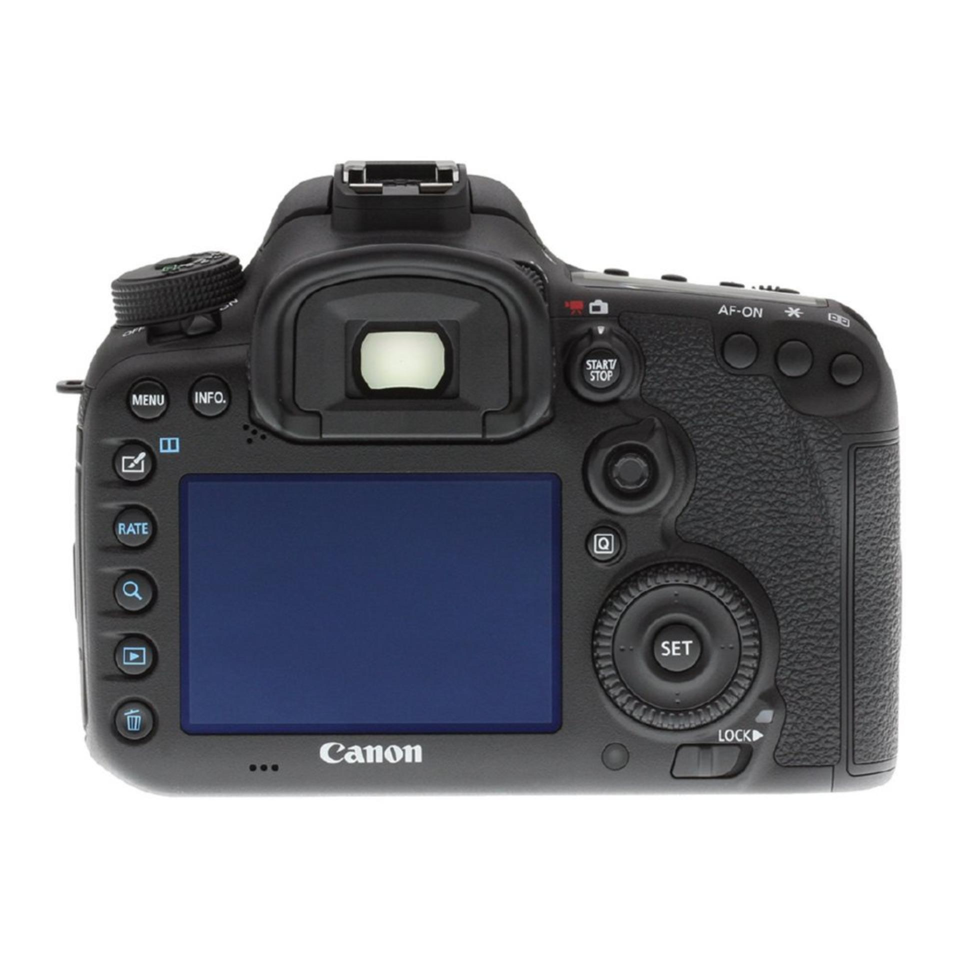 Canon EOS 7D Mark II DSLR Camera (Body Only) + Canon W-E1 Adapter