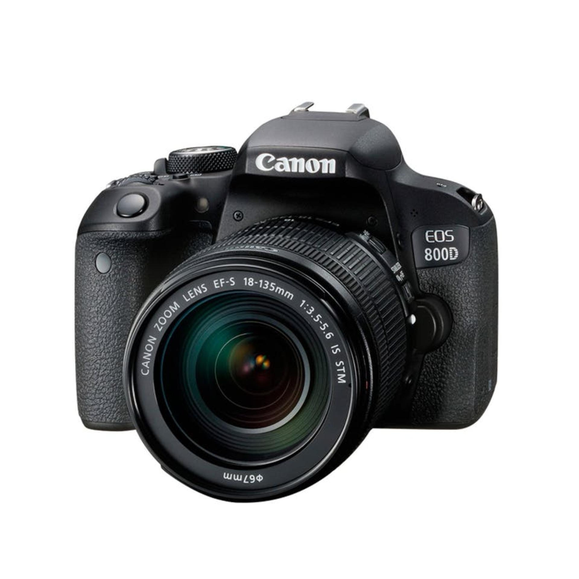 Canon EOS 800D 24.2MP kit (EF-S18-135mm f/3.5-5.6 IS STM) (FREE Canon Camera Bag + 16GB SD Card)
