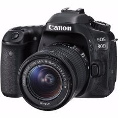 Canon EOS 80D Camera Body with EF-S 18-55mm IS STM Lens Kit-export only