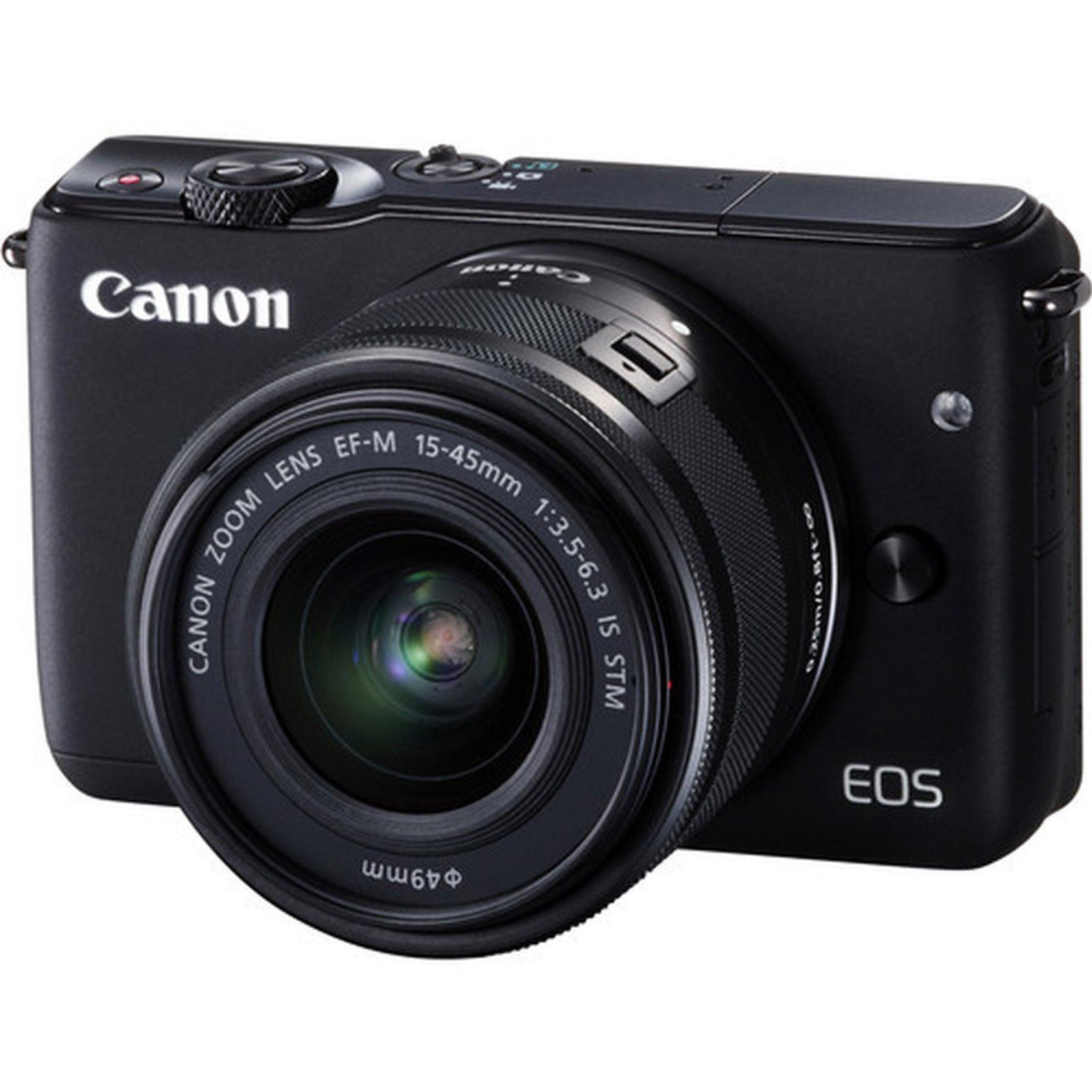 Canon EOS M10 EF-M 15-45 IS STM Kit 18MP (Black) (EXPORT)