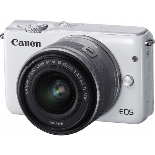 Canon EOS M10 Mirrorless Digital Camera with 15-45mm and 55-200mm Lenses