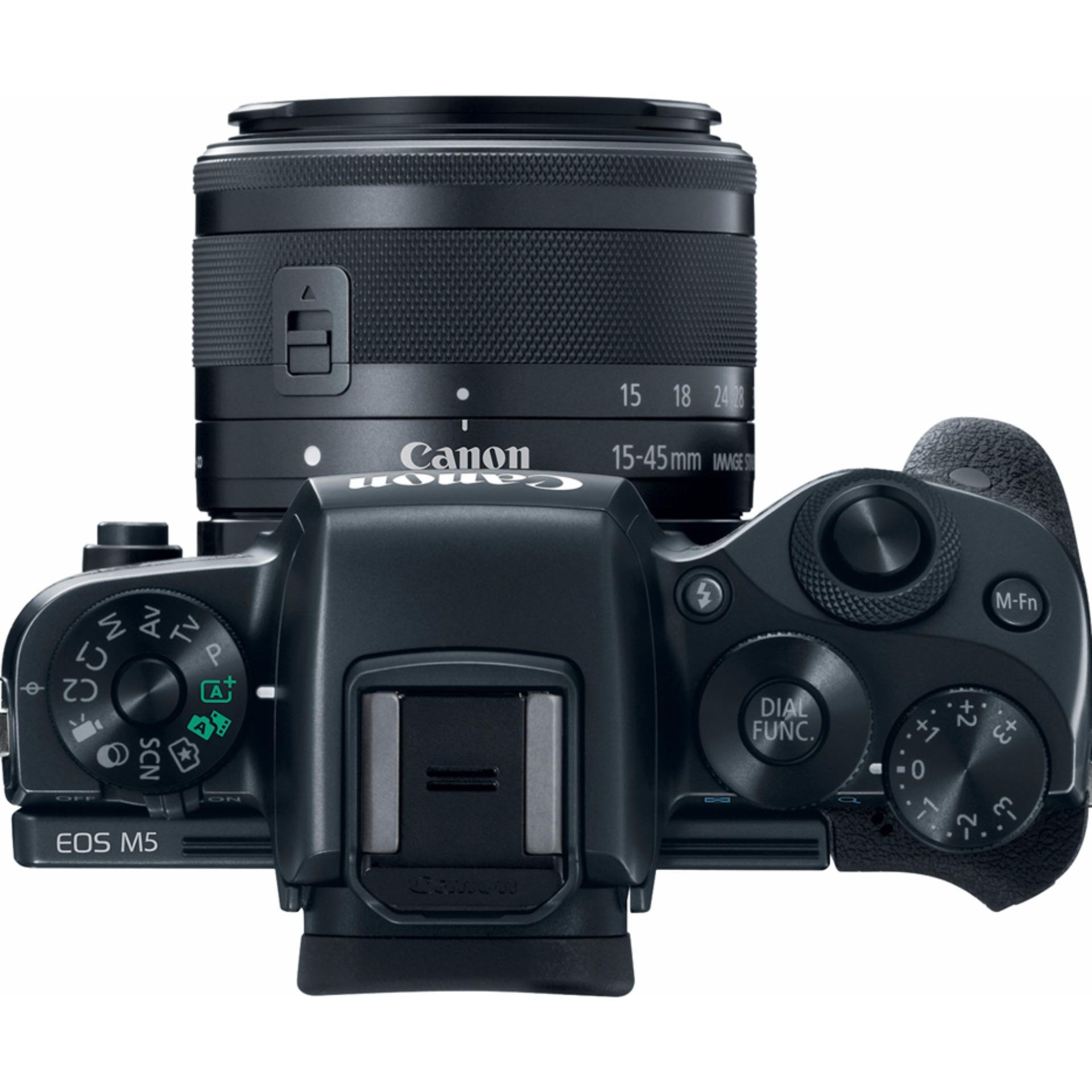 Canon EOS M5 + EF-M15-45mm IS STM Kit