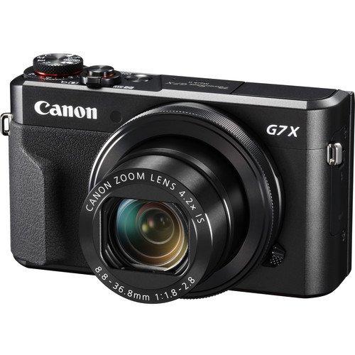 Canon PowerShot G7 X Mark II Digital Camera (Warranty)