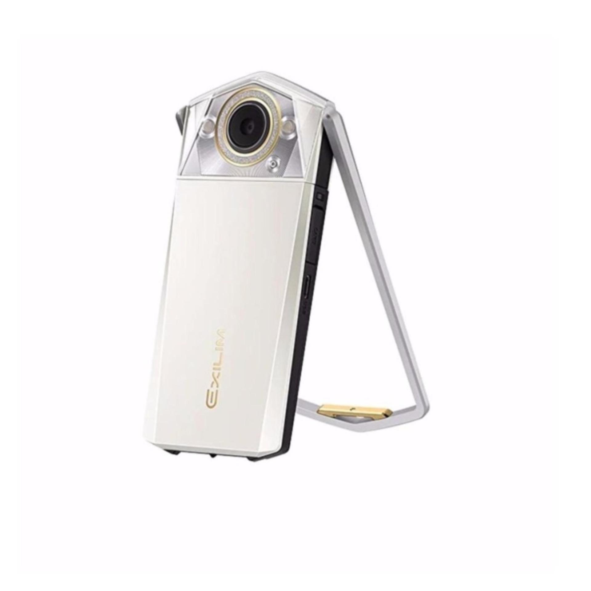 Casio Exilim EX-TR80 (White) Local 1 Year Warranty