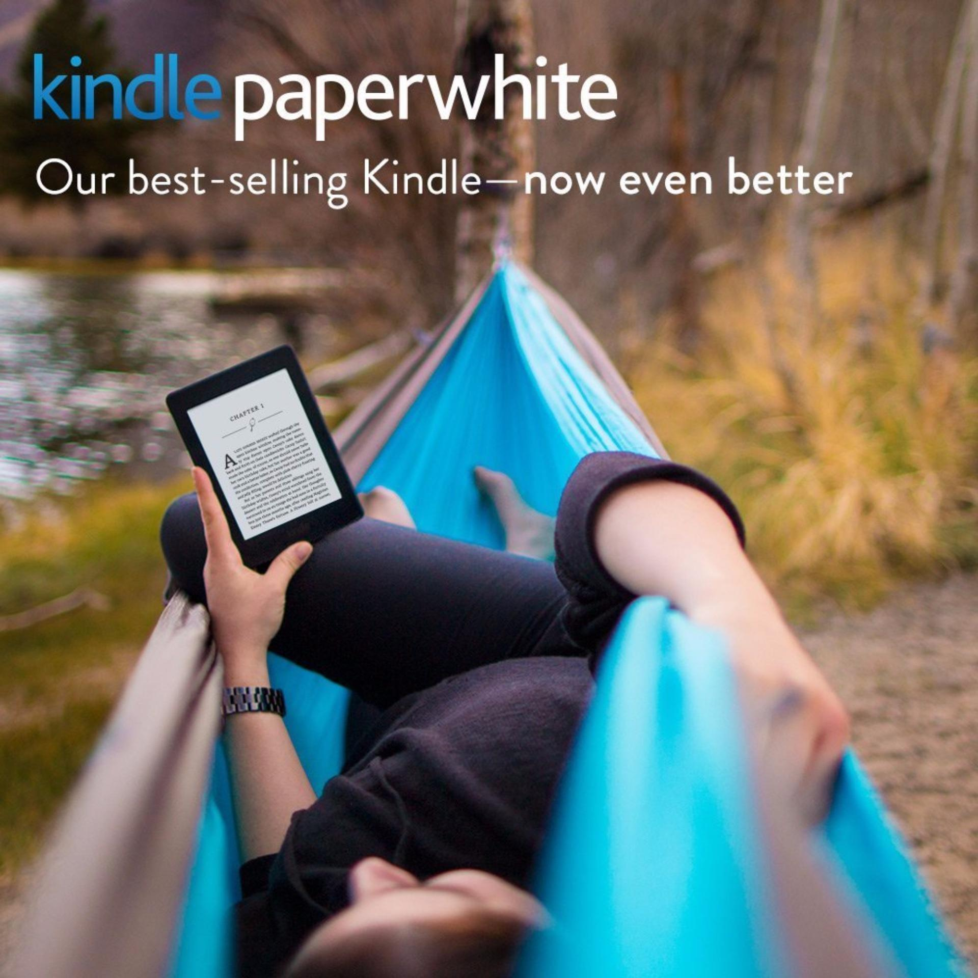 Certified Refurbished Kindle Paperwhite 3 - White 2016, 6