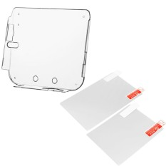 Clear Shockproof Protective Skin Wrap Case Cover Shell Sleeve with 2 Screen Protector Film for Nintendo 2DS Console – intl