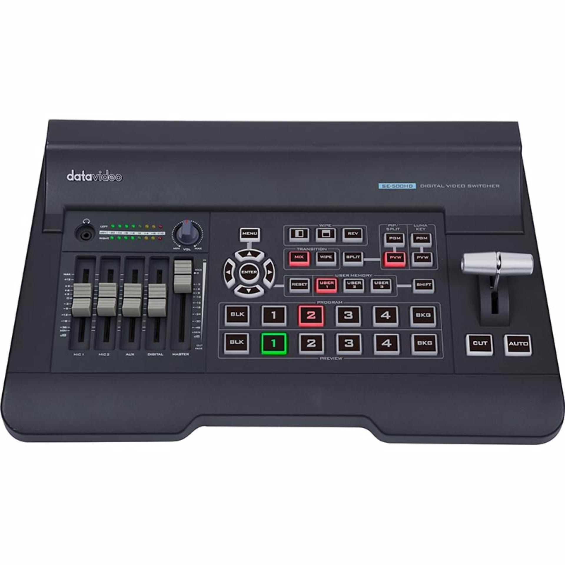 Datavideo SE-500HD HD/SD – 4 Channel Video Switcher