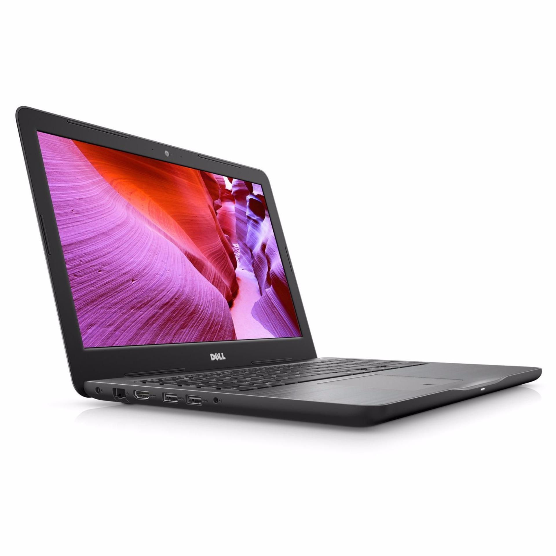 Dell Inspiron Notebook 5567-750824GL (Black) (Intel i7-7500U, 8GB RAM, 256GB SSD, AMD Radeon R7 M445 4GB GDDR5 Graphics, 15.6-inch FHD)