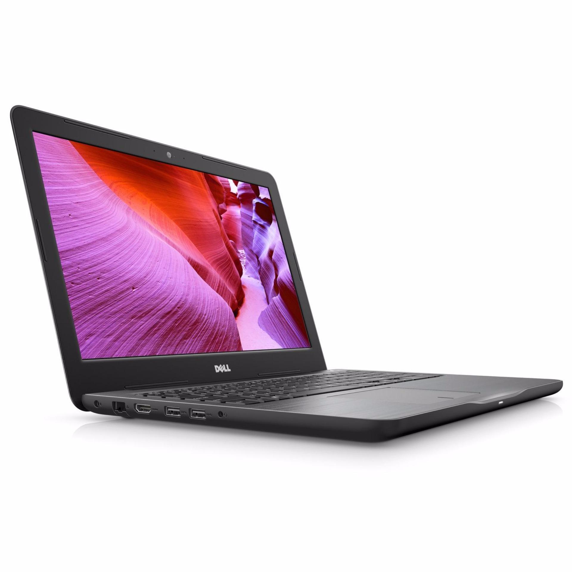 *CNY SALE Dell Inspiron Notebook 5567-750824GL (Black) (Intel i7-7500U, 8GB RAM, 256GB SSD, AMD Radeon R7 M445 4GB GDDR5 Graphics, 15.6-inch FHD)