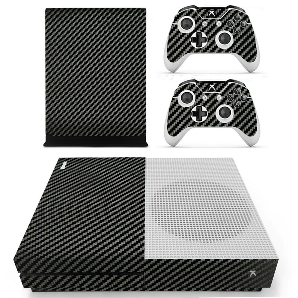 Designer Skin for XBOX ONE S Gaming Console+2 Controller Sticker Decal - intl